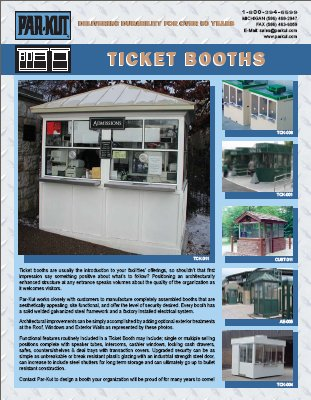 Ticket and Admission Booths