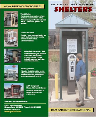 Pay Machine Shelters