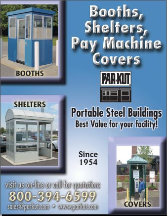 Booths, Shelters, Pay Machine Covers