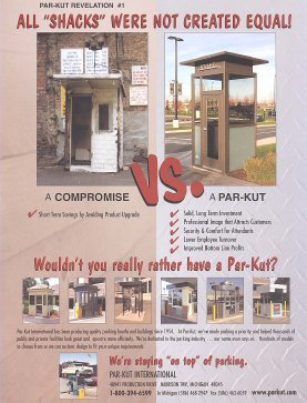 Parking Shacks are Not Equal!</
