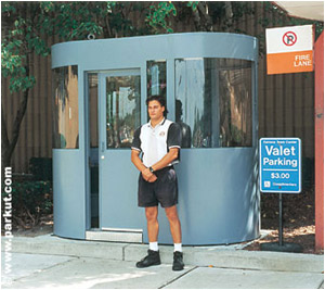 parking booth CRV-003