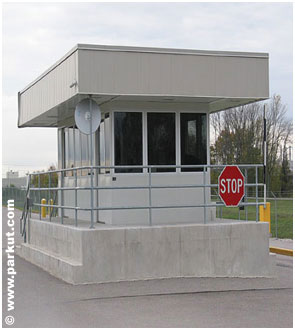 security booth SEC-001
