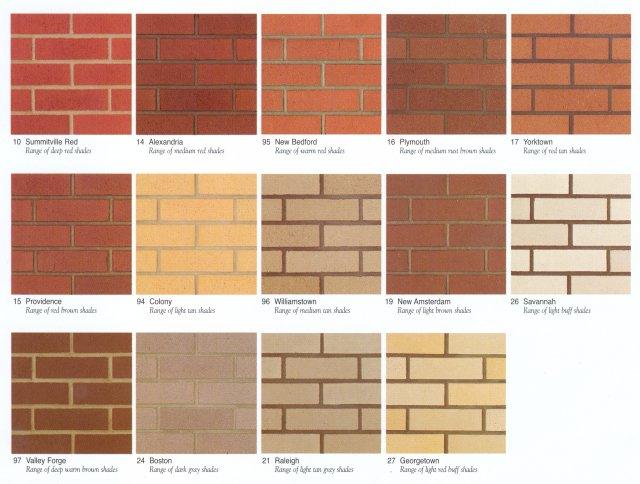 Brick Colors Brick House Colors On Brown Brick Houses