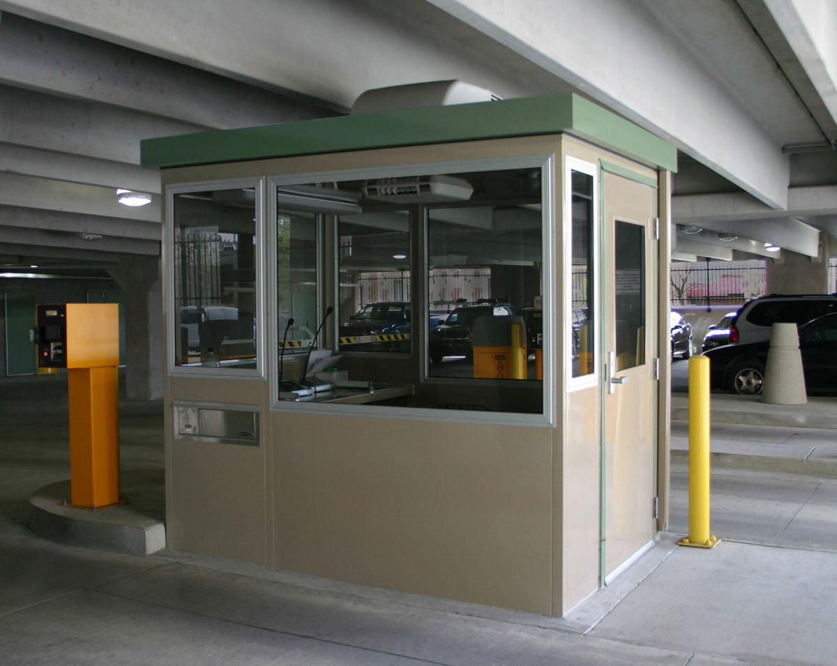 Portable Parking Garage >> Parking Booth   Parking Booths   Portable Steel Buildings